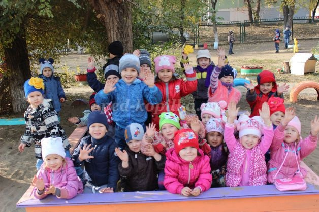 Прогулки в детском саду картинки (15)