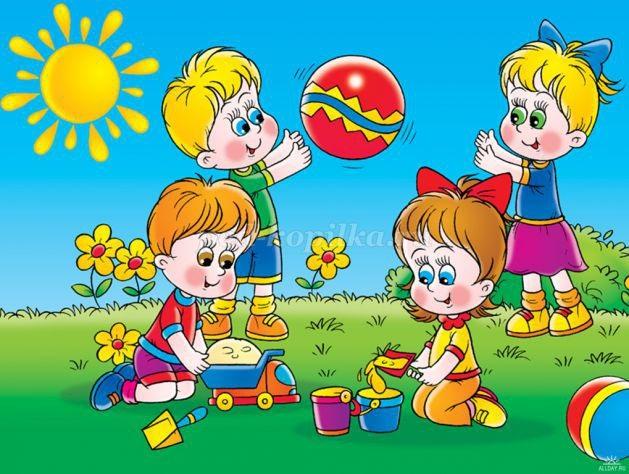 Прогулки в детском саду картинки (17)