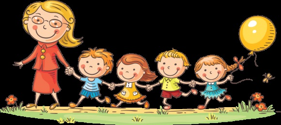Прогулки в детском саду картинки (4)