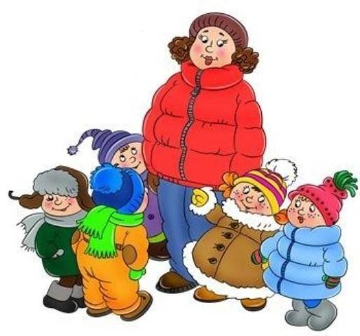 Прогулки в детском саду картинки (5)