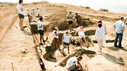 Рассказ о работе археологов
