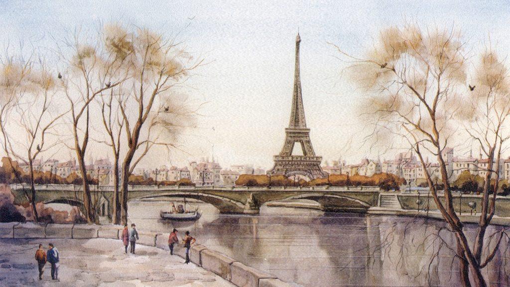 Рисованные картинки на рабочий стол (17)