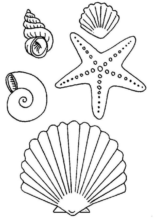 Рисуем морских обитателей с детьми   подборка рисунков (11)