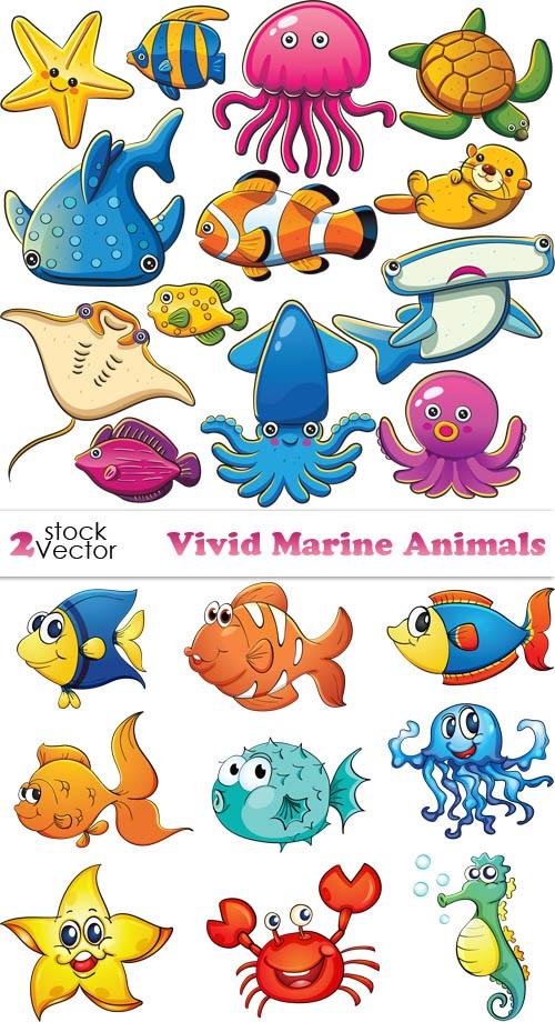 Рисуем морских обитателей с детьми - подборка рисунков (23)