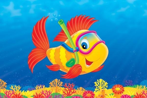 Рисуем морских обитателей с детьми - подборка рисунков (24)