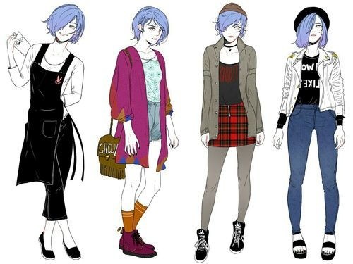 Рисунки в полный рост аниме (10)