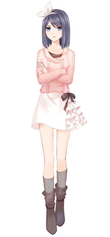 Рисунки в полный рост аниме (12)