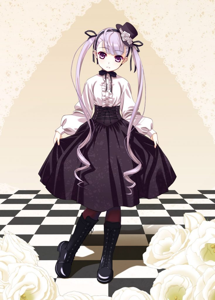 Рисунки в полный рост аниме (17)
