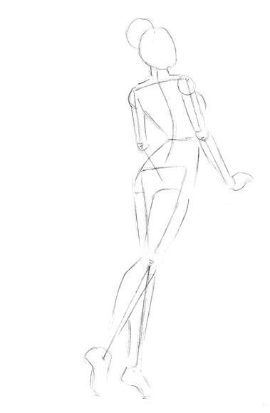 Рисунки в полный рост девушки (11)