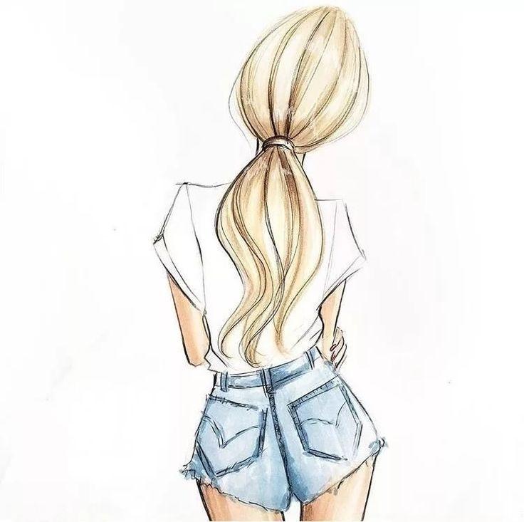 Рисунки в полный рост девушки (7)