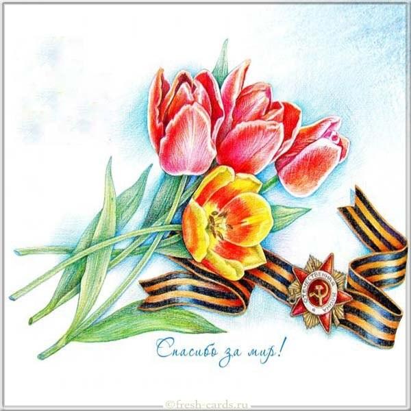 Рисунки на 9 мая день победы - подборка (11)