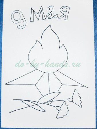 Рисунки на 9 мая день победы - подборка (2)