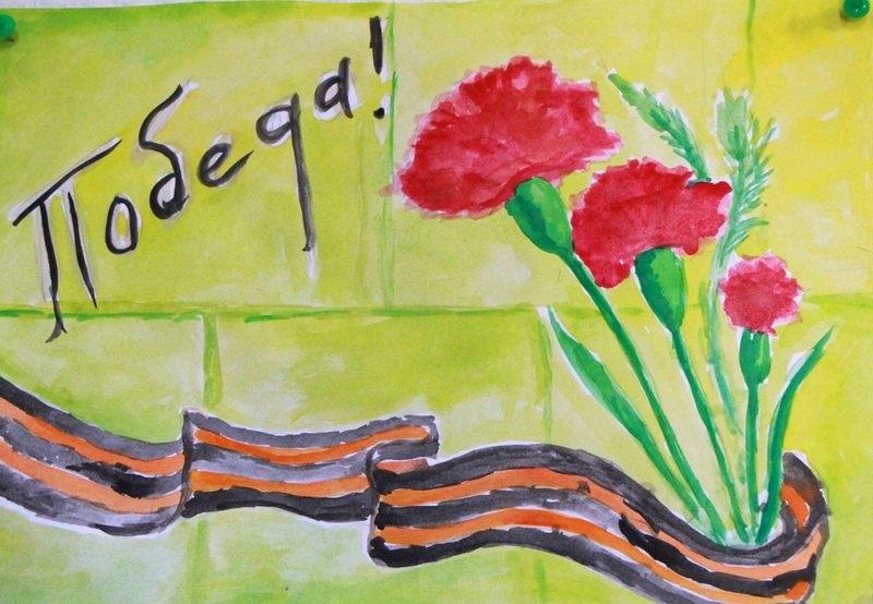 Рисунки на 9 мая день победы - подборка (8)