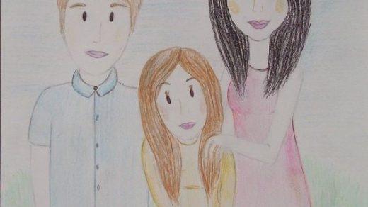 Рисунок моя семья в школу (20)