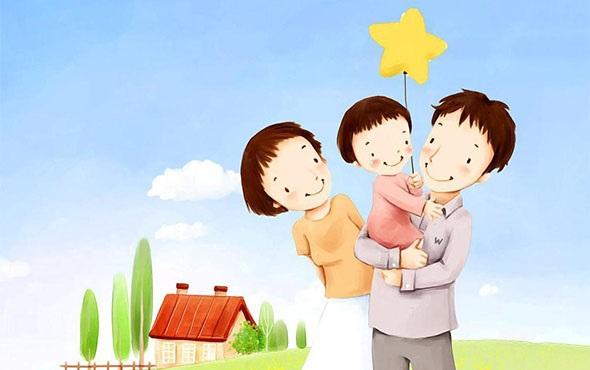 Рисунок моя семья в школу (9)
