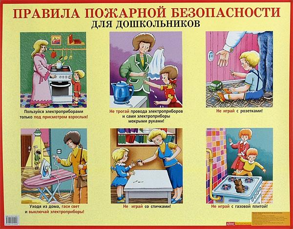 Рисунок противопожарная безопасность для детей (1)