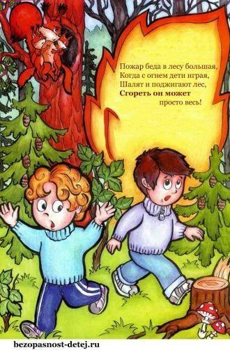 Рисунок противопожарная безопасность для детей (12)