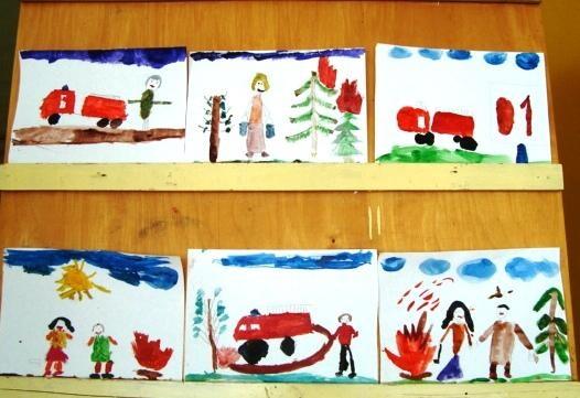 Рисунок противопожарная безопасность для детей (17)