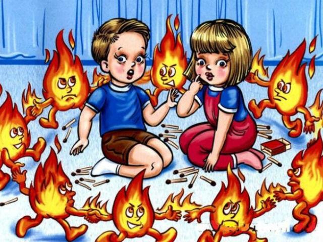 Рисунок противопожарная безопасность для детей (5)