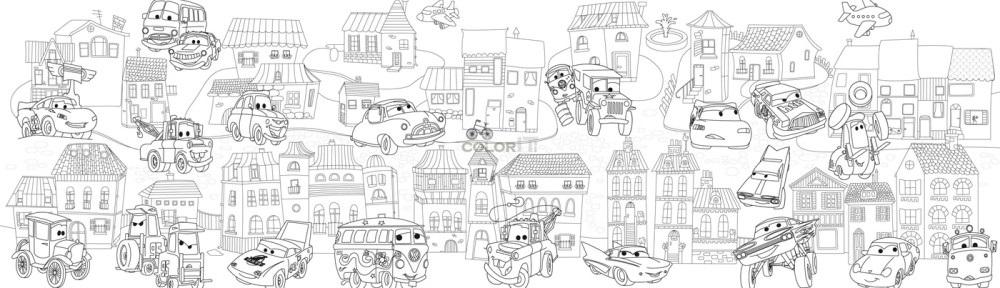 Сказочный город раскраски - подборка (12)