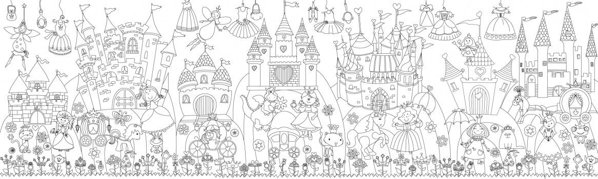 Сказочный город раскраски   подборка (2)