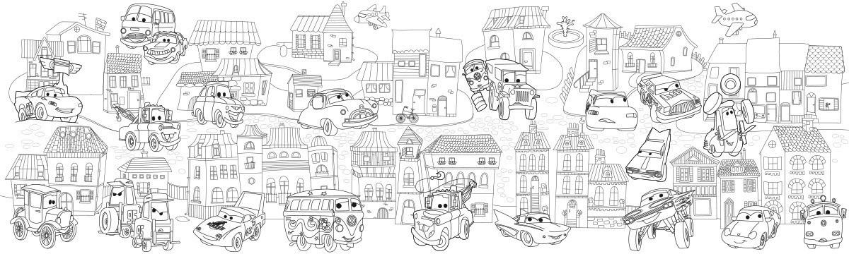 Сказочный город раскраски   подборка (3)
