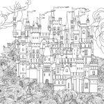 Сказочный город раскраски — подборка