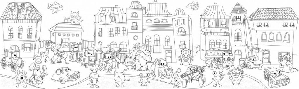 Сказочный город раскраски - подборка (8)