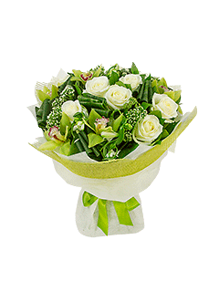 Современные букеты из живых цветов (2)