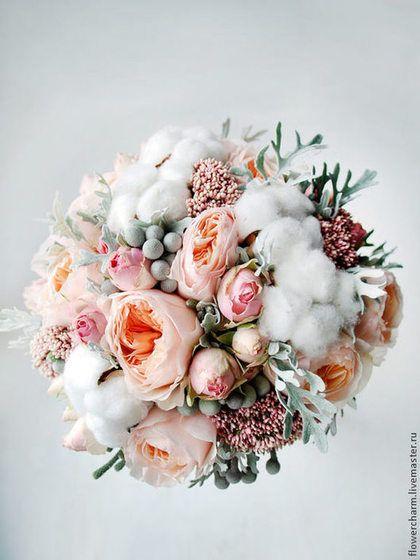 Современные букеты из живых цветов (4)