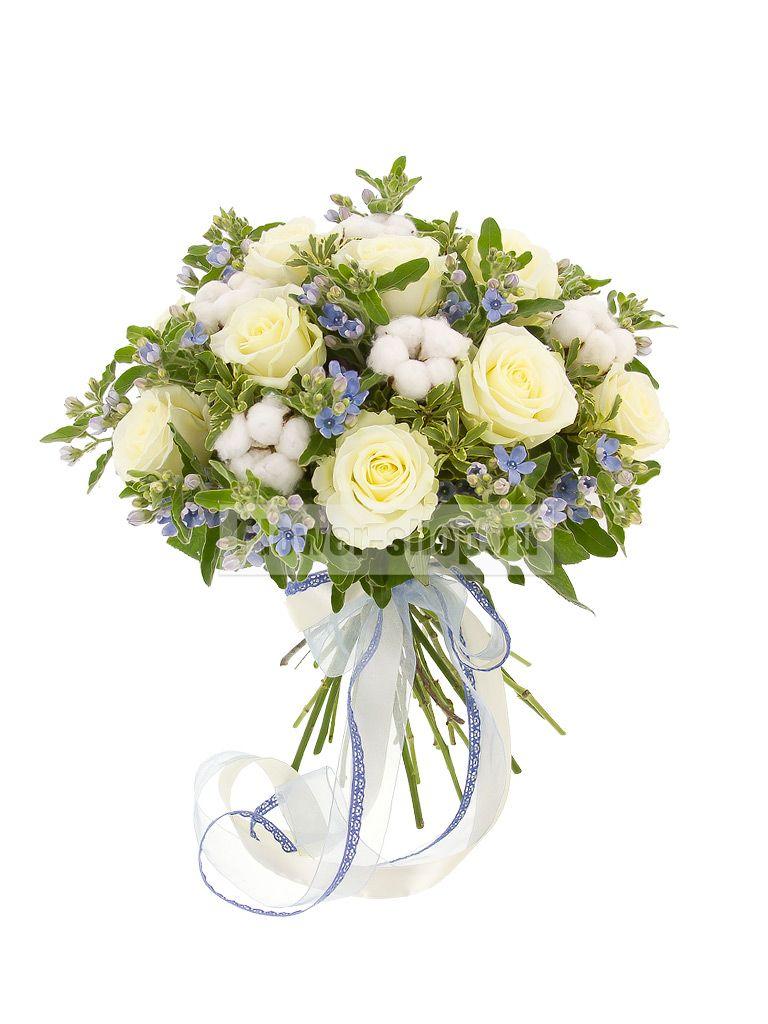 Современные букеты из живых цветов (7)