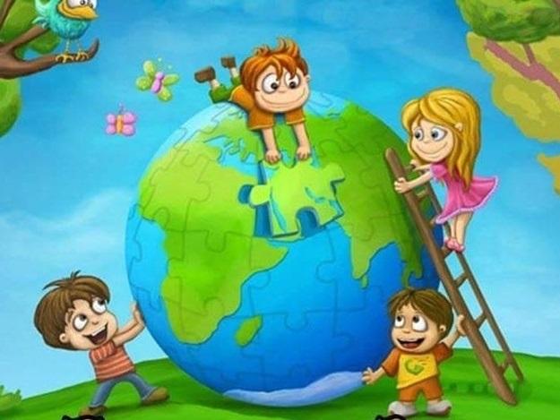Фото планета земля для детей (8)