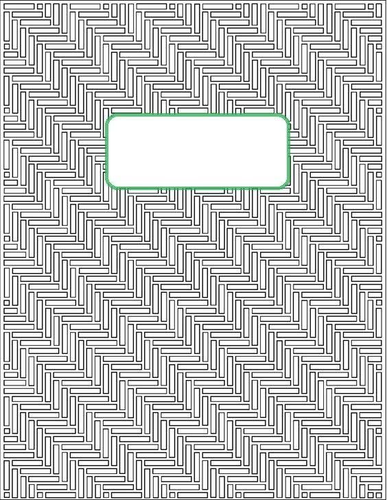 Черно белые распечатки на тетрадь в лучшем качестве (13)