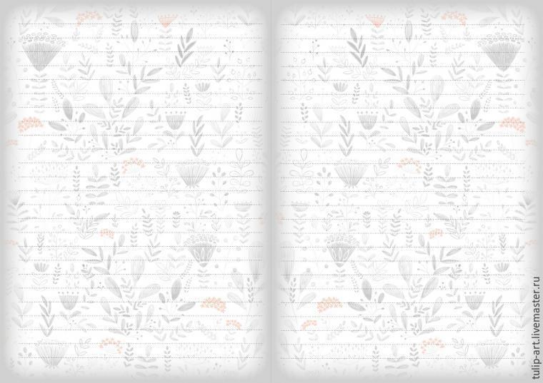 Черно белые распечатки на тетрадь в лучшем качестве (2)