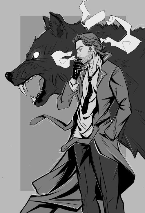 The Wolf Among Us красивые арт картинки (1)