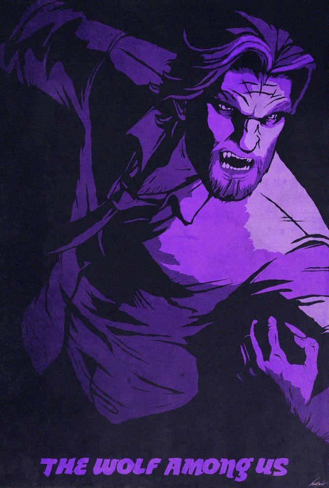 The Wolf Among Us красивые арт картинки (10)