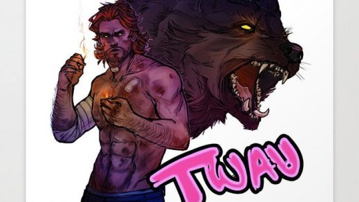 The Wolf Among Us красивые арт картинки (17)