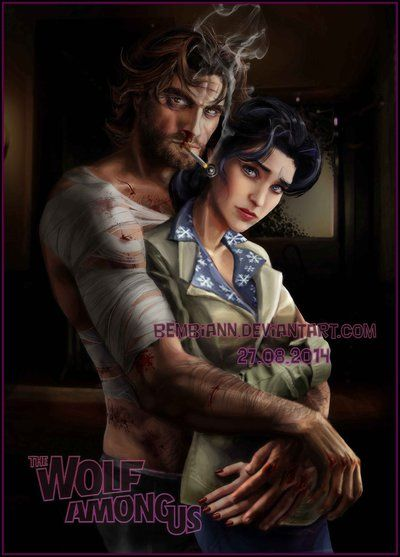 The Wolf Among Us красивые арт картинки (2)