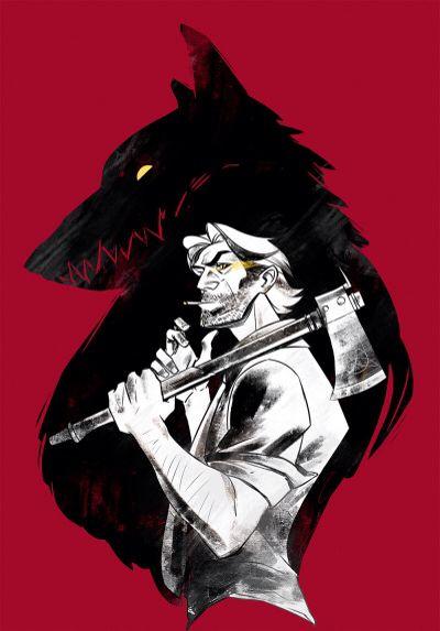 The Wolf Among Us красивые арт картинки (3)