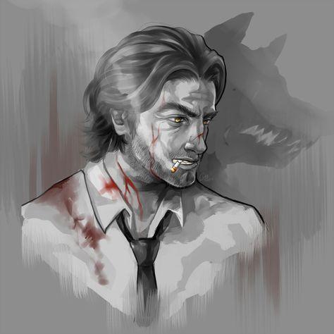 The Wolf Among Us красивые арт картинки (5)