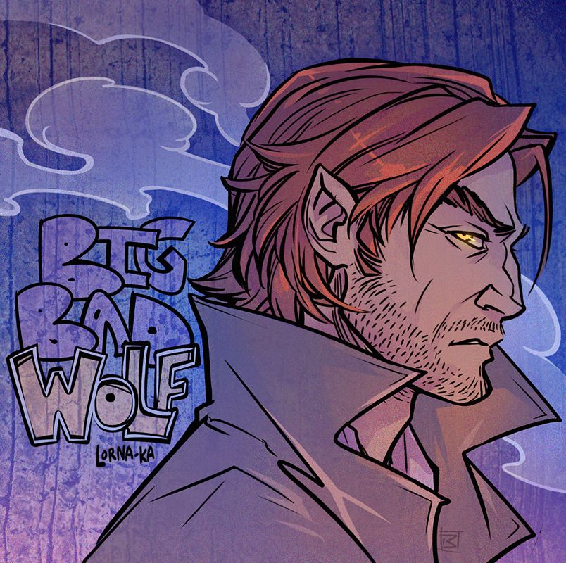 The Wolf Among Us красивые арт картинки (8)