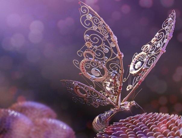 Бабочки с прозрачными крыльями фото (1)