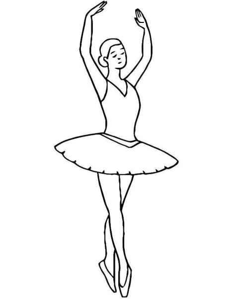 Балерина рисунок для детей (1)