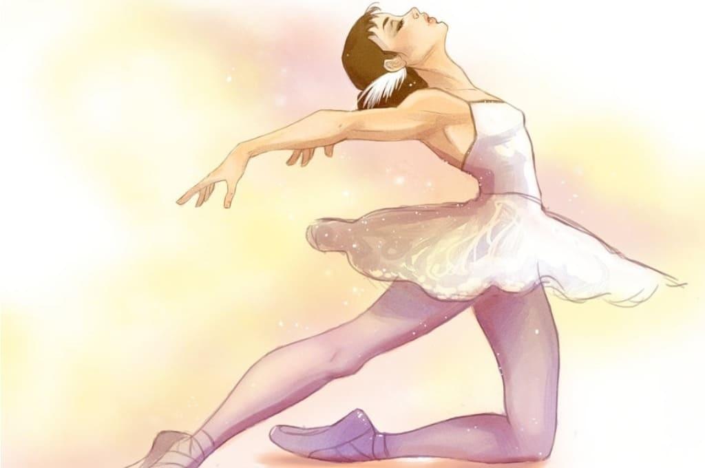 Балерина рисунок для детей (11)