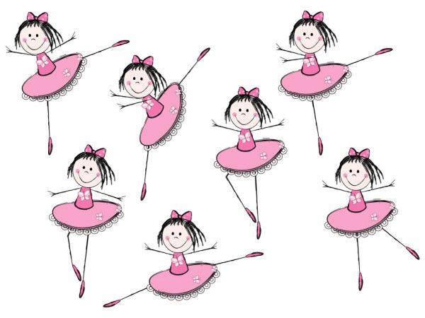 Балерина рисунок для детей (12)