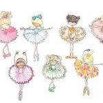 Балерина рисунок для детей