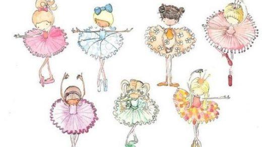 Балерина рисунок для детей (18)