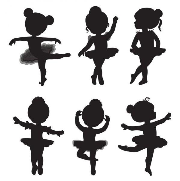 Балерина рисунок для детей (19)