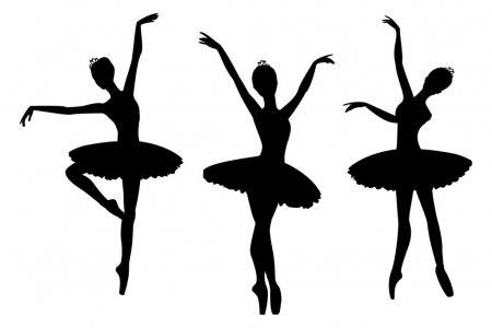 Балерина рисунок для детей (2)