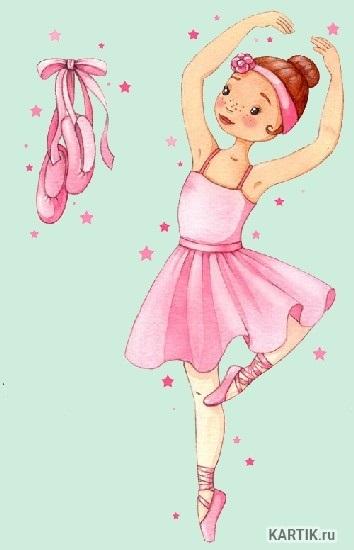 Балерина рисунок для детей (21)